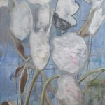 Bikkel - 10 02 2020 flowers - acryl on canvas - 80x60cm - 2020 21