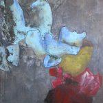 Bikkel - 11 02 2020 flowers - acryl on canvas - 80x60cm - 2020 21
