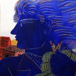 2steps.gr_modern_painting_Alekos_fasianos_Green_Foulard_institution_theocharakis_athens_001