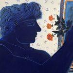 2steps.gr_modern_painting_Alekos_fasianos_roses_of_friendship_institution_theocharakis_athens_001